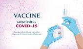 istock Coronavirus vaccine COVID-19. Vector illustration 1277015666