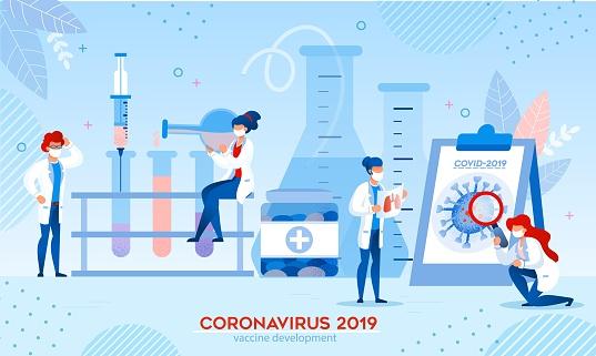 Coronavirus Vaccine Research Development in Lab