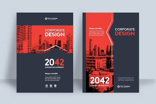 flyer template stock illustrations