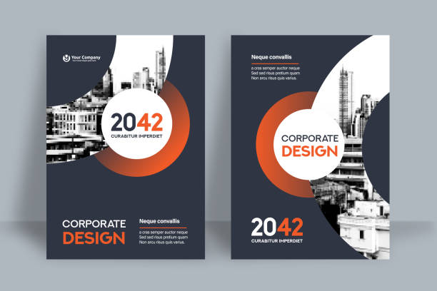 Corporate Book Cover Design Template in A4 Corporate Book Cover Design Template in A4. Can be adapt to Brochure, Annual Report, Magazine,Poster, Business Presentation, Portfolio, Flyer, Banner, Website. inserting stock illustrations