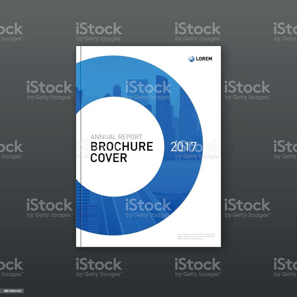 Corporate Brochure Cover: Corporate Brochure Cover Design Template Stock