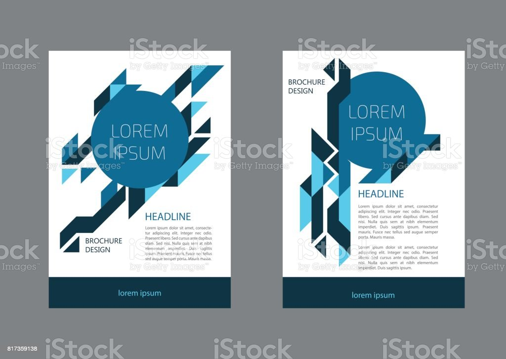 Corporate Brochure Document Cover Page Presentation Leaflet