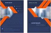 brochure template design copy space