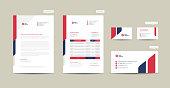 istock Corporate Business Branding Identity | Stationary Design | Letterhead | Business Card | Invoice | Envelope | Startup Design 1282067766