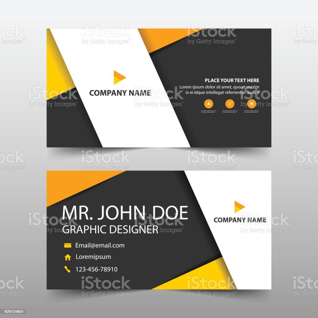 Corporate business card name card template horizontal simple clean corporate business card name card template horizontal simple clean layout design template business flashek Images