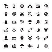 Corporate Business vector symbols and icons
