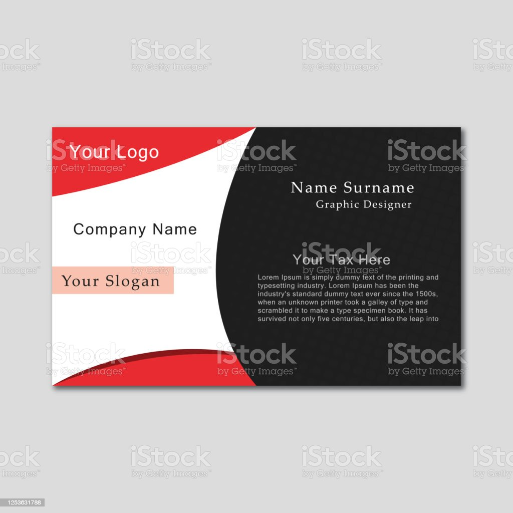 Corporate Clean Creative Elegant Royal Professional Business Card Design Stock Illustration Download Image Now Istock