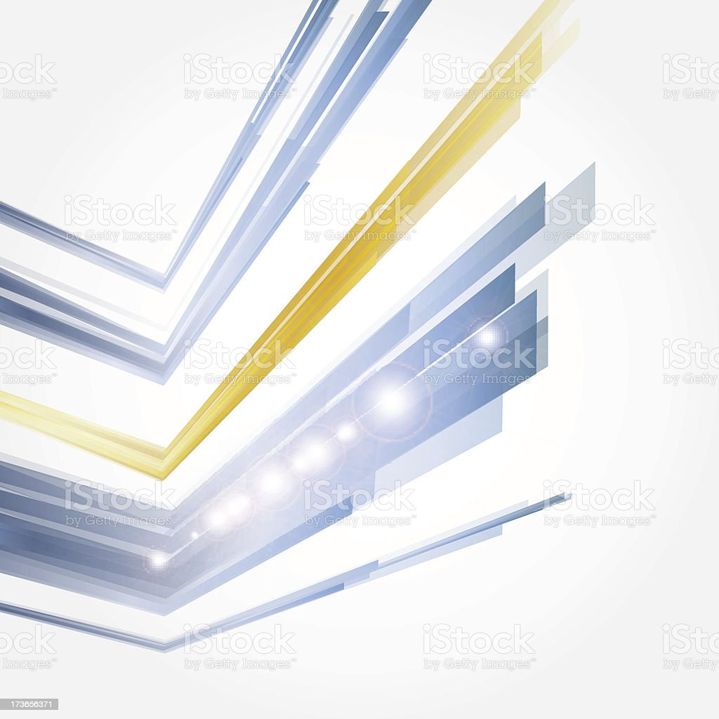 corporate concept with modern design element royalty-free stock vector art