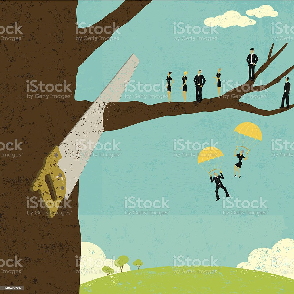 Corporate downsizing royalty-free corporate downsizing stock vector art & more images of adult
