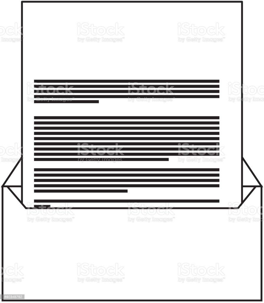 Corporate Umschlag Und Dokument Brief Briefpapier Leer Stock Vektor