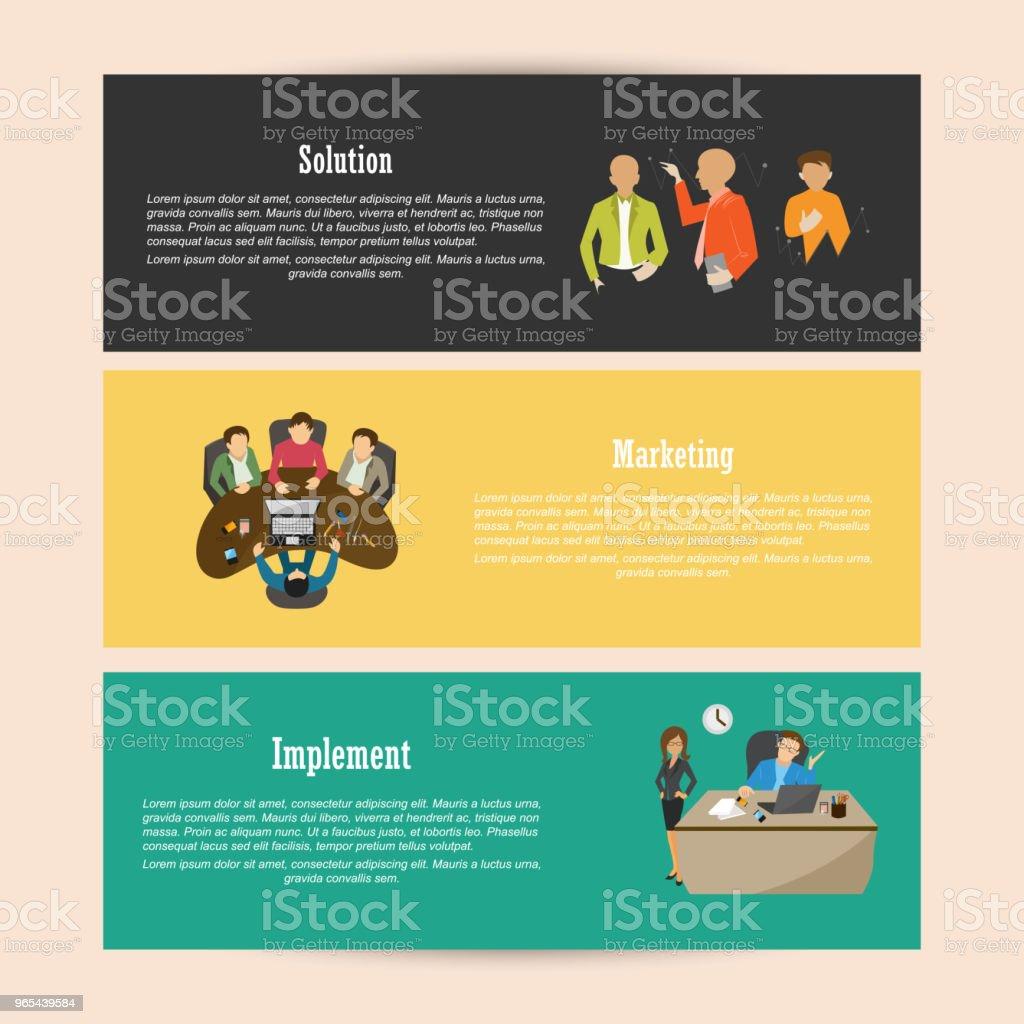 Corporate Header - Lizenzfrei Abstrakt Vektorgrafik