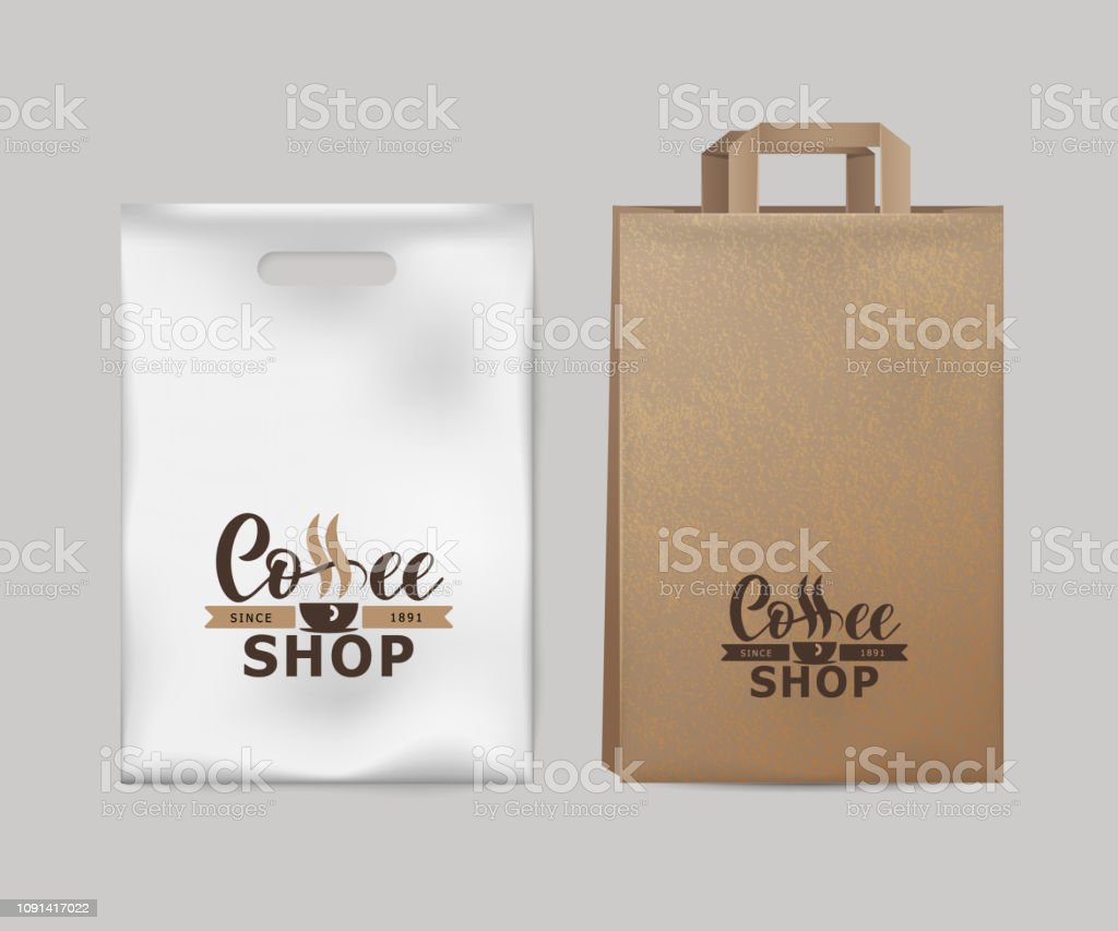 best sell footwear elegant shoes Corporate Identity Coffee Industry Template Of Paper Pack ...