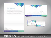 Corporate identity set for your business