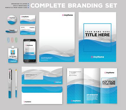 Corporate identity stationary items