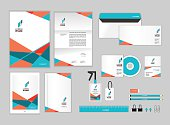 corporate identity template for your business 034