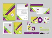 corporate identity template for your business 044