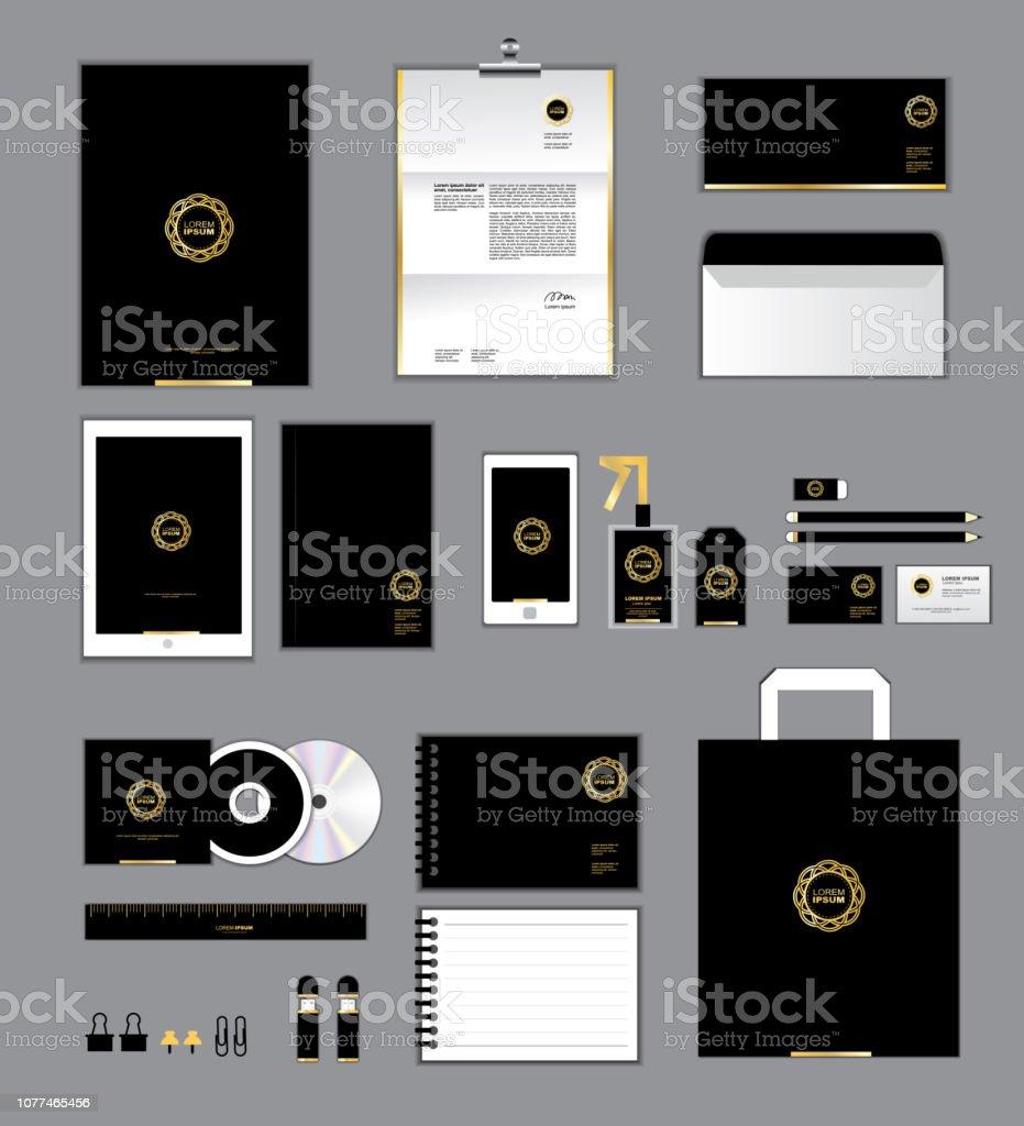 Corporate Identityvorlage Für Ihr Unternehmen Beinhaltet