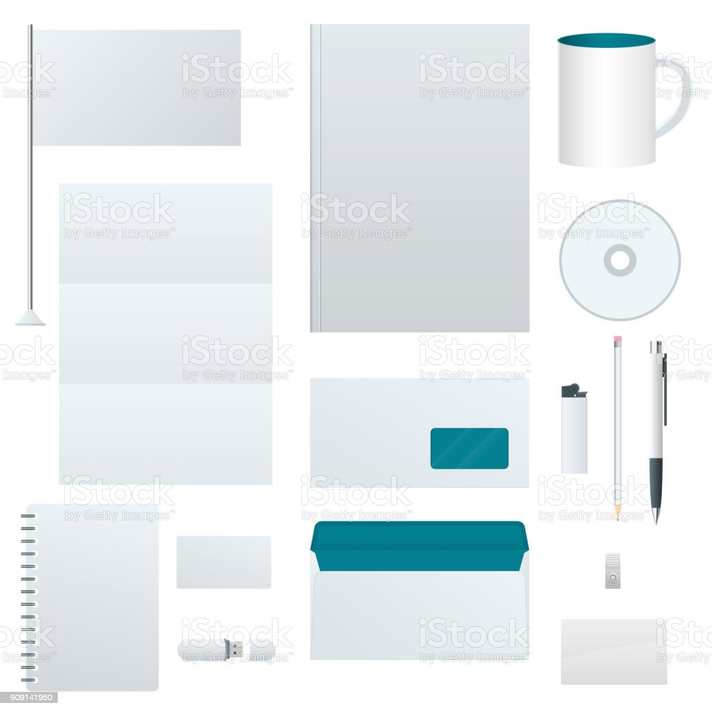 Corporate identity template set branding design blank template corporate identity template set branding design blank template business stationery mock up fbccfo Images