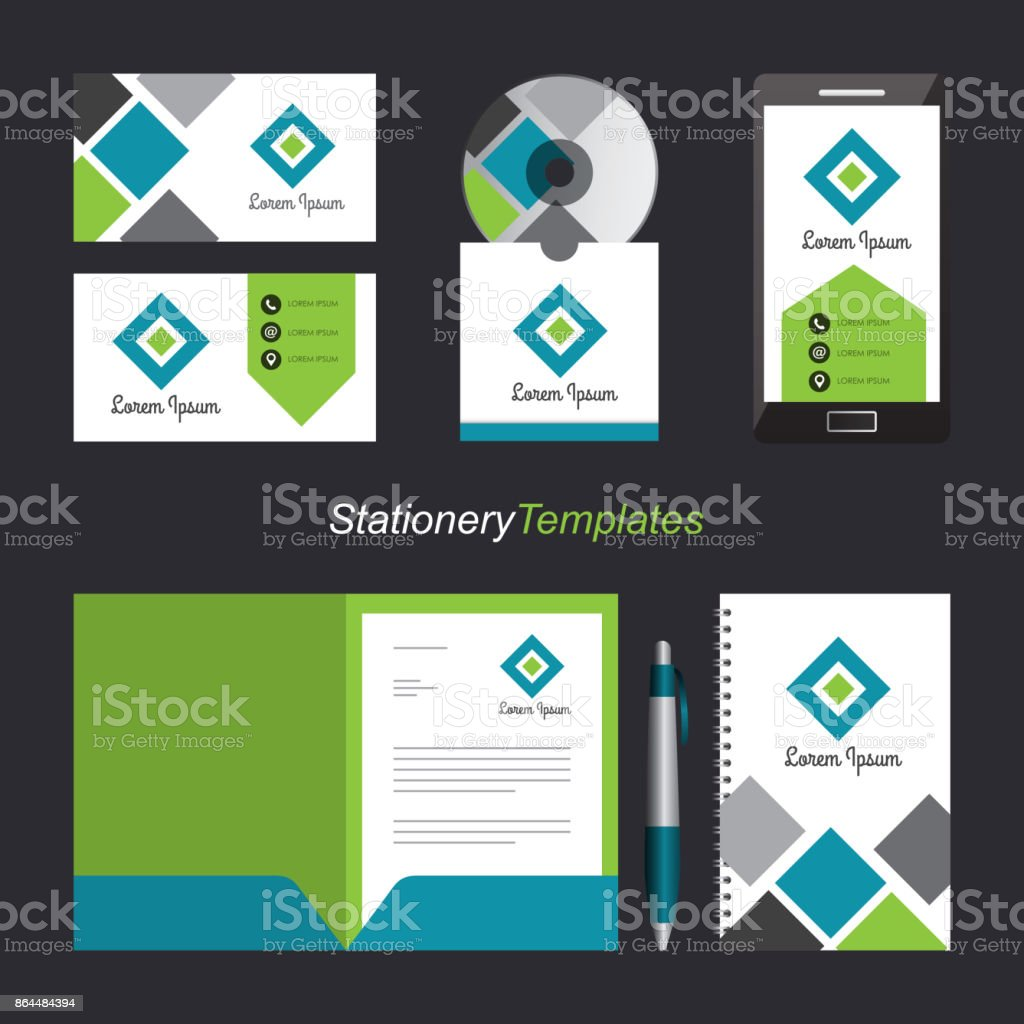 Corporate identity template set business stationery mockup with corporate identity template set business stationery mock up with emblem branding design royalty free cheaphphosting Gallery