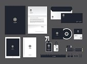 corporate identity template set H
