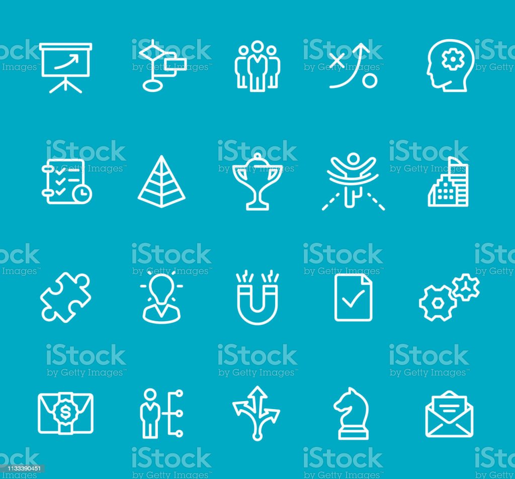 Pixel Perfect - Isolated on Blue - Icon Set Icons are designed in...