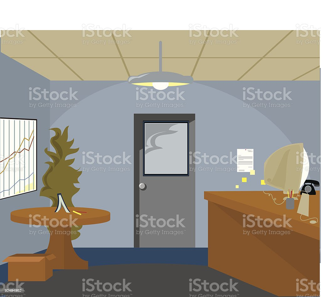 Corporate Office royalty-free corporate office stock vector art & more images of blue