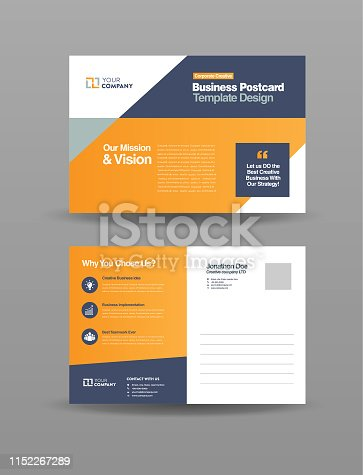 Corporate Professional Business Postcard Design, Event Card Design, Direct Mail EDDM Template, Invitation Design, Business card design for company summery and it can be used with newspaper delivering :)