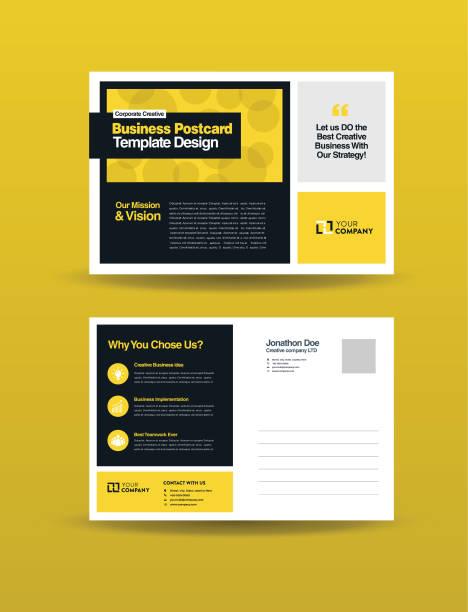 企業專業名片設計、活動卡設計、直郵 edm 範本、邀請設計 - postcard 幅插畫檔、美工圖案、卡通及圖標
