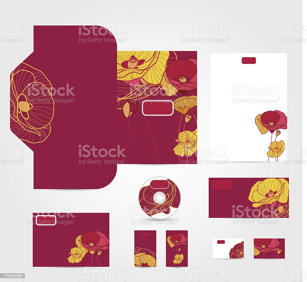 Corporate style royalty-free stock vector art