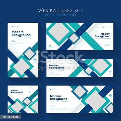 Banner web corporativo o plantilla de publicación de redes sociales flyer