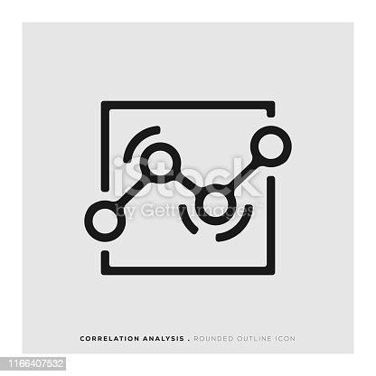 Correlation Analysis Icon