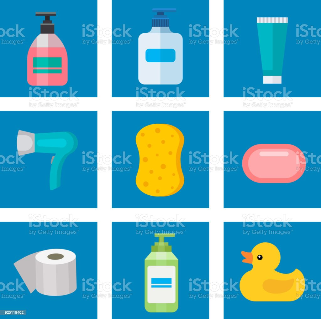 Cosmetic Bathroom Bottles Of Household Chemicals Supplies Cleaning - Supplies for cleaning bathroom