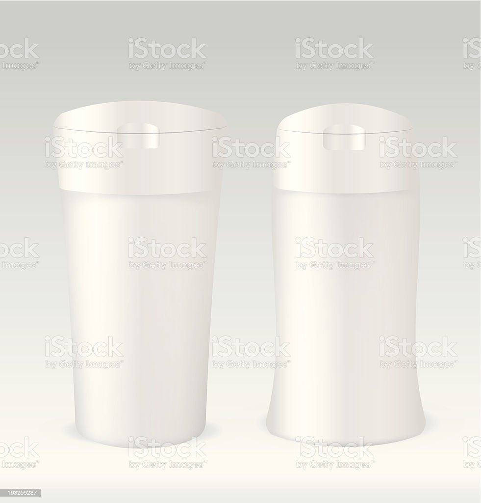 Cosmetic container bottle royalty-free stock vector art