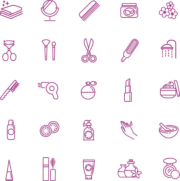 kosmetische symbole - naturseife stock-grafiken, -clipart, -cartoons und -symbole