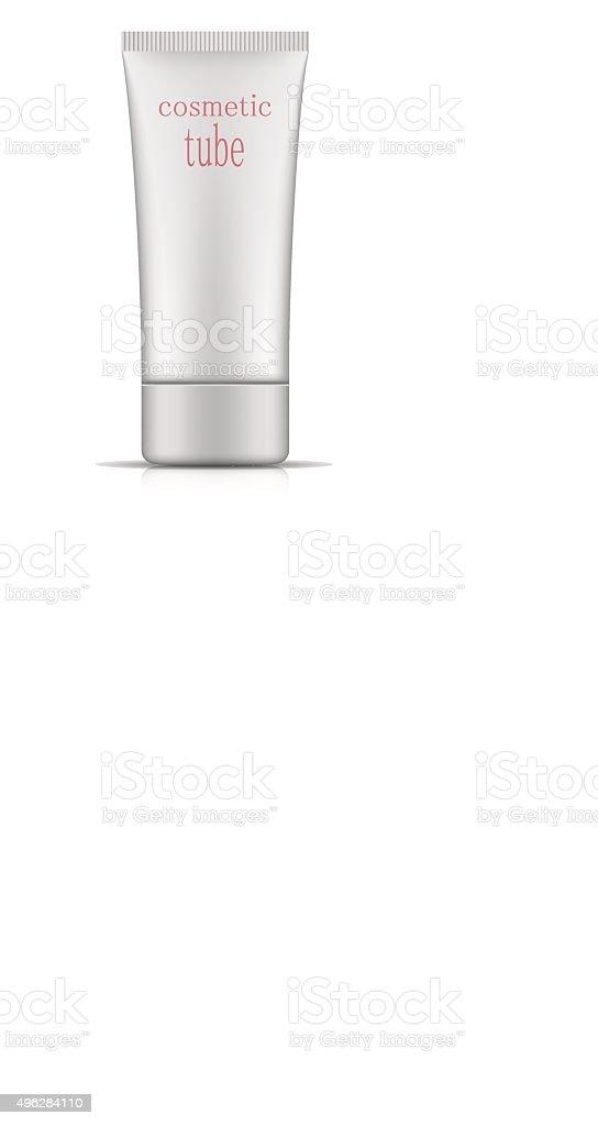 Envases Cosméticos Ovalados Tubo De Plástico Plantilla Para Tu ...