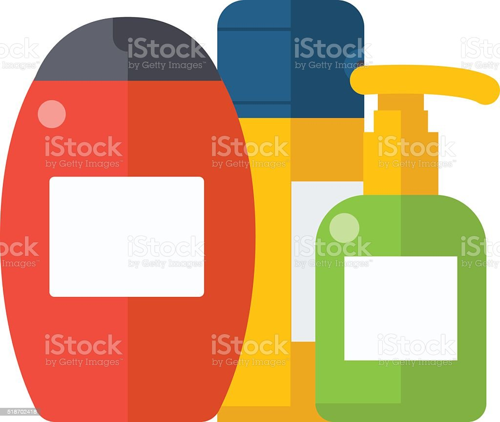 royalty free shower gel clip art vector images illustrations istock rh istockphoto com Shampoo Containers Shampoo Word
