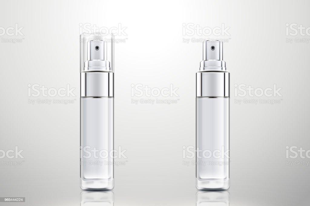 Cosmetic spray bottles set cosmetic spray bottles set - stockowe grafiki wektorowe i więcej obrazów bez ludzi royalty-free