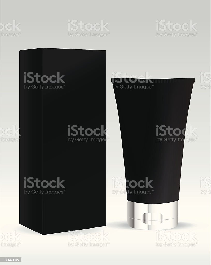Cosmetic standing tube for cream and gel royalty-free cosmetic standing tube for cream and gel stock vector art & more images of adult