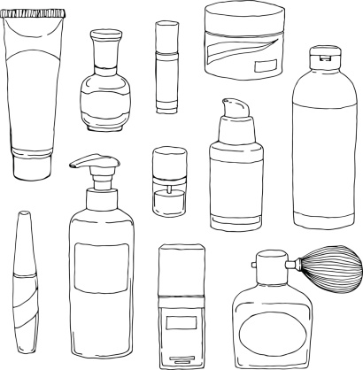 Cosmetics Bottle Set