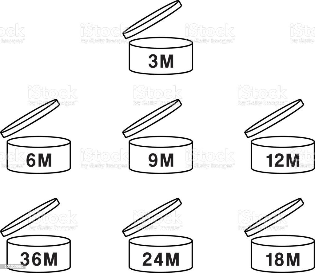 cosmetics symbol vector design stock vector art amp more