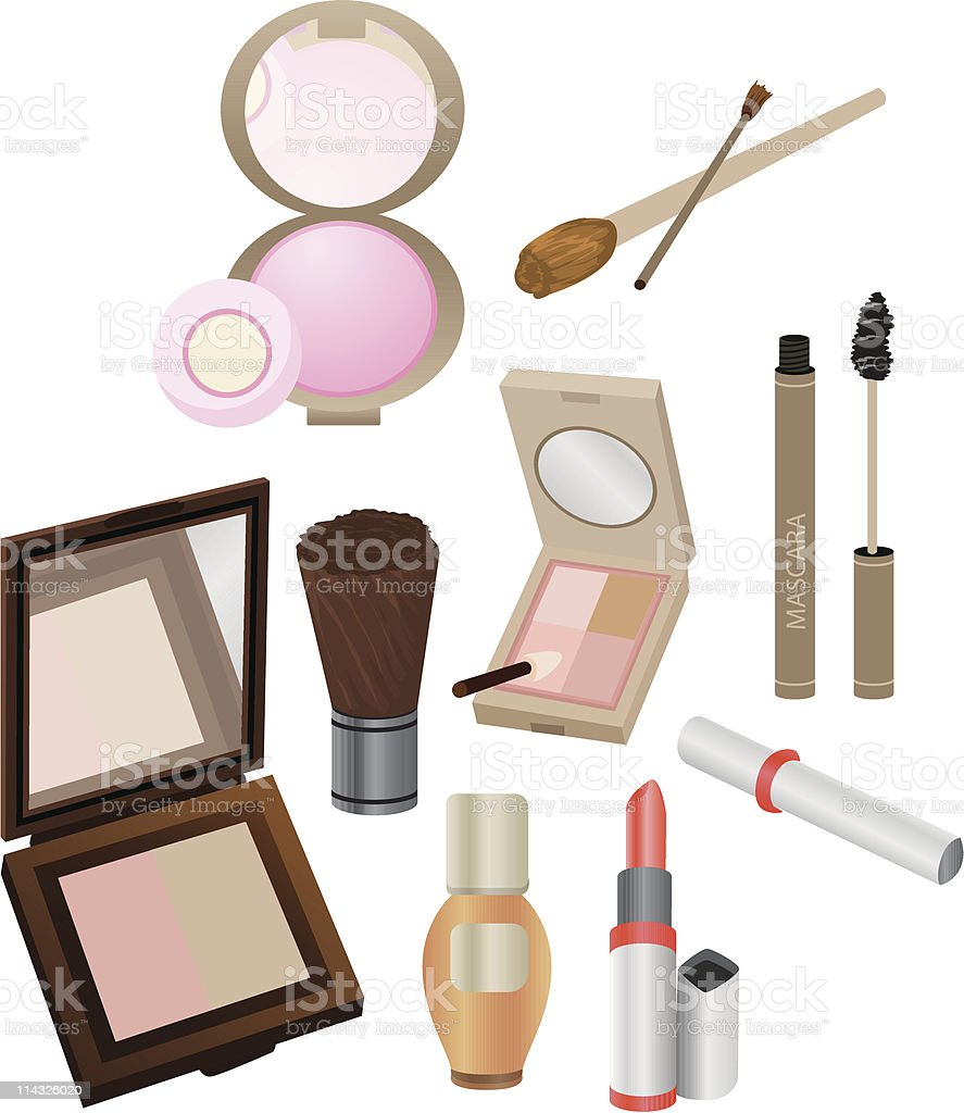 Cosmetics royalty-free cosmetics stock vector art & more images of beauty