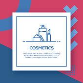 Cosmetics Vector Line Icon - Simple Thin Line Icon, Premium Quality Design Element