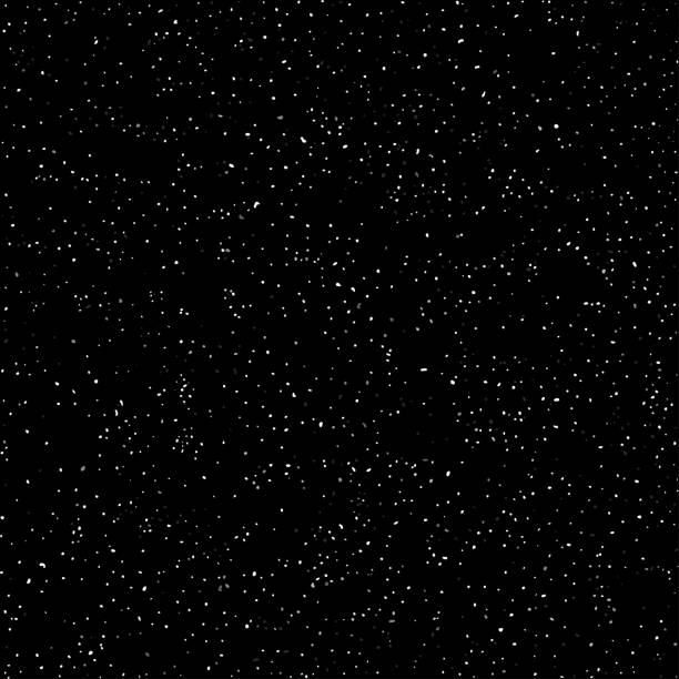 cosmic galaxy background. stardust and bright shining stars. - космос и астрономия stock illustrations