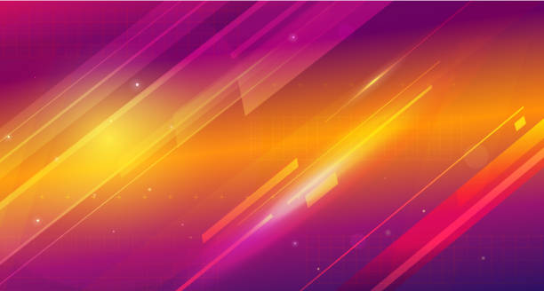 Cosmic shining abstract background Cosmic HUD sci-fi interface vector abstract background. Science, disco, party. Print, video nightclub stock illustrations