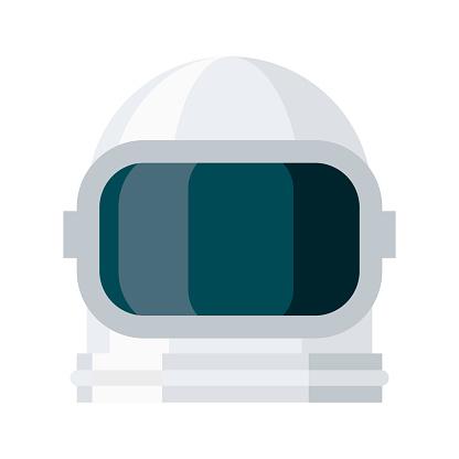 Cosmonaut Icon on Transparent Background
