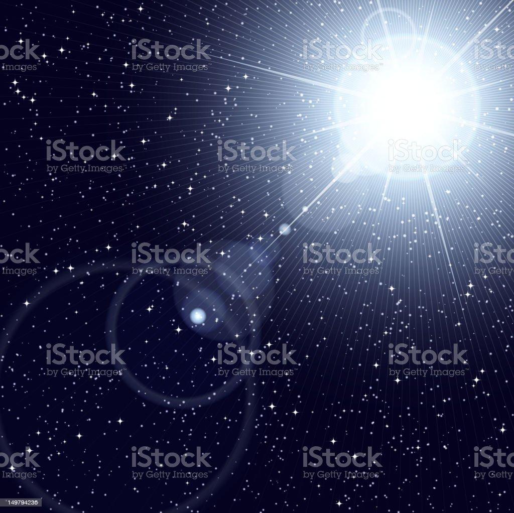 Cosmos royalty-free stock vector art