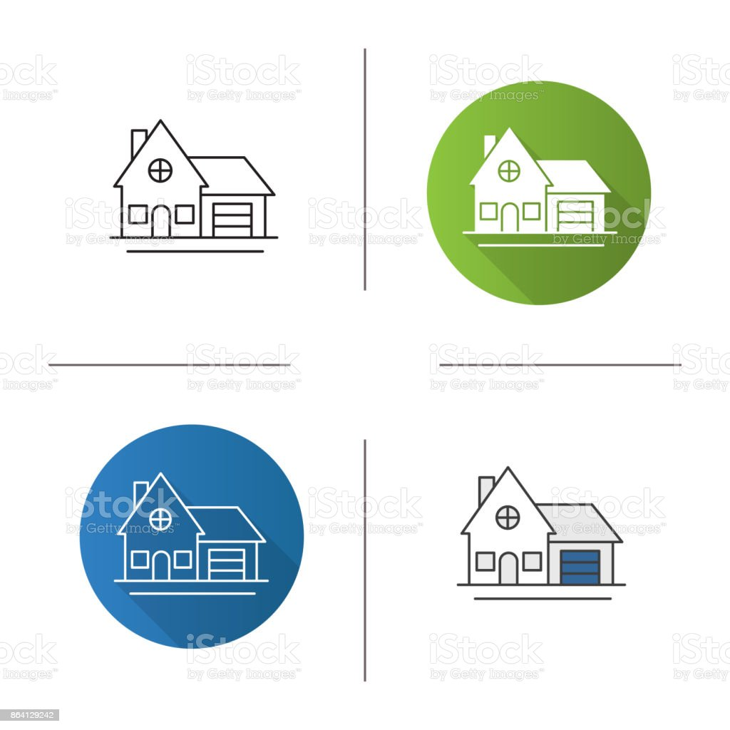 Cottage icon royalty-free cottage icon stock vector art & more images of architecture