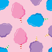 istock Cotton Candy Pattern 996172430