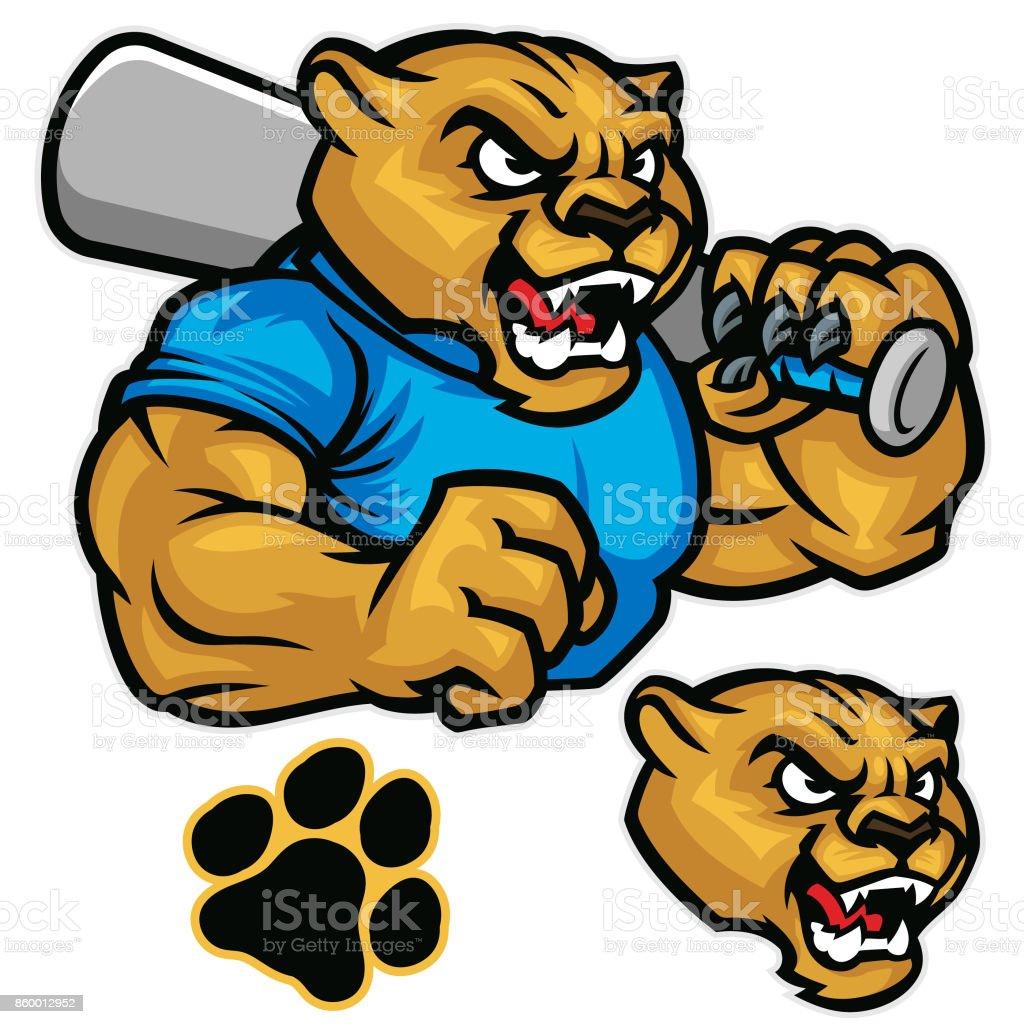 Cougar baseball pack