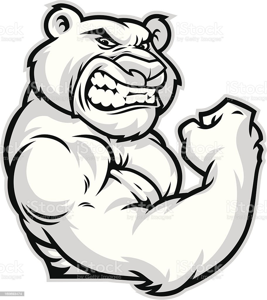 cougar mascot flex stock vector art more images of aggression rh istockphoto com cougar mascot clipart free Cougar Logo